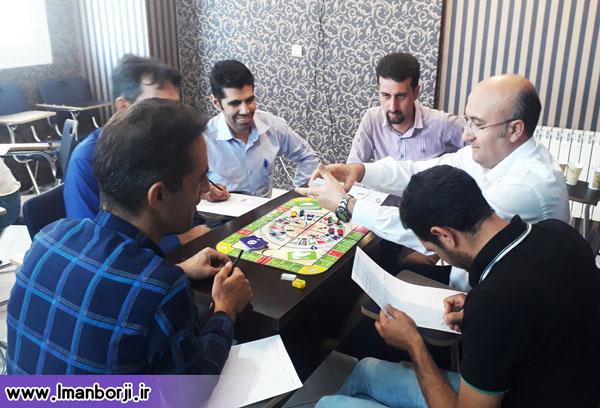 انجام بازی در کارگاه دانش مالی